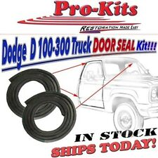 Fits 78-93 Dodge Truck Ramcharger Trailduster Door Weatherstrip Seal