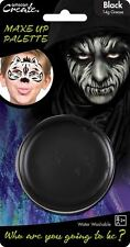 14g Grease Based Theatre Face & Body Paint Make Up Palette Pallet Black