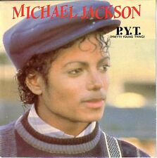 "MICHAEL JACKSON  P.Y.T. (Pretty Young Thing) PICTURE SLEEVE 7"" 45 rpm record NEW"