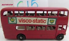 MATCHBOX LESNEY VISCO-STATIC ROUTEMASTER BUS MADE IN ENGLAND W+