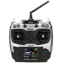 RadioLink AT-9 2.4G 9CH Transmitter with R9DS 9CH Receiver for RC Helicopter  SH