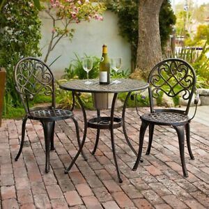 Camden 3-piece Bistro Set with Built-In Ice Bucket. Great for entertaining