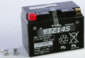 Yuasa Factory Activated Maintenance Free Battery YTZ14S YUAM72Z14