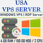 USA Server - Windows VPS Server   VPS Hosting - 4GB RAM + 150 GB HDD