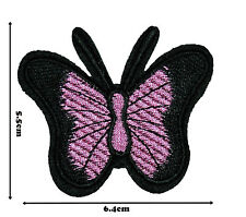 Butterfly Iron Sew On Embroidered Patch Badge Patches Logo Fancy Badges #326