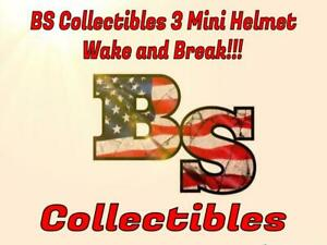 (Fri) BS Collectibles 3 Mini Helmet Day Break TAMPA BAY BUCCANEERS