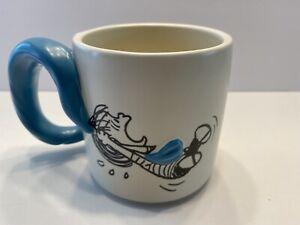 Hallmark Peanuts Linus and Snoopy Dimensional Blanket Coffee Mug Rare HTF Nice
