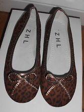 Size 3 Leopard Print Ballet Shoes (506)