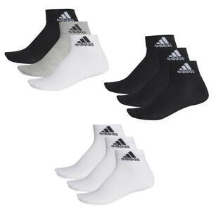 3 Paar adidas Performance Sneaker Socken Gr. 35 - 54 Unisex Kurzsocke