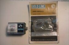 VINTAGE  GOLD LINE MODEL 1138 IN-LINE S W R  BRIDGE  100 WATTS 3-33 MHz  NOS