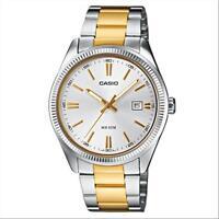 orologio casio collettion MTP-1302PSG-7AVEF  acciaio oro tipo rolex