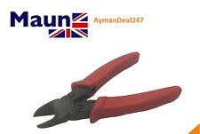 "Maun Diagonal Cutter Nipper 150mm 6"" With Red Sleeves Genuine England"