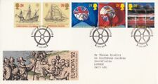 1992 Europa. International Events - Liverpool H/S FDC.