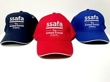 Mens Womens Unisex SSAFA Logo Baseball Cap Adjustable Fastener Cotton