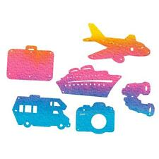 6pcs Travel Tourism Theme Cutting Dies Stencil DIY Scrapbooking Paper Card Craft