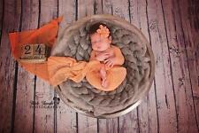 Merino Baby Coperta PLAT nido Pod Neonato Fotografia Prop 3 metri treccia UK