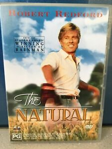 The Natural DVD Robert Redford Glenn Close Kim Basinger Robert Duvall