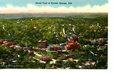 Aerial View-City-Town of Eureka Springs-Arkansas-Vintage Postcard