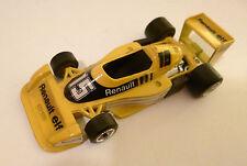 """Formel Formula 1 Racing car Renault RS 01 """"elf"""" #15, Polistil 1:43, ca. 10,5 cm!"""