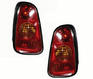 02 03 04 Mini Cooper Left & Right Taillight Taillamp Light Lamp Pair L+R