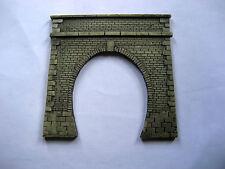 portale tunnel  per diorami e plastici ferroviari  art.p 07