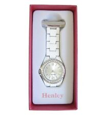 Fashionable Henley White Beautician Nurses Doctors Fob Watch HF01.4
