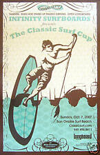 Vtg. 2007 San Onofre SUP CUP Stand-Up Surfing Contest Surfboard Art Poster