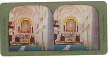 Franciscan Chapel, Church of the Nativity, Bethlehem, Vintage  Color Stereoview