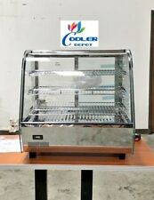 New 26 Commercial Dry Warmer Display Case For Hot Food Pizza Snack 3 Shelf