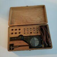 Vintage Burgess Vibra Tool Kit, Multi Tips, Woodworking, Tested Working
