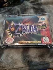 The Legend Of Zelda Majora's Mask Limited Edition Gold Game Pak PAL AUS N64 CIB