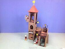 (O3445.3) playmobil maison des tour de garde chateau médiéval 3666 3450 3445