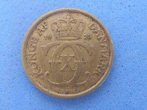 871) DENMARK 1/2 KRONE 1925 £5.00 UK POST PAID