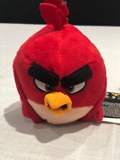 New Angry Birds Rovio Mobile Plush Toy Stuffed Animal Character Red