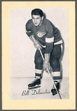 1944-63 Beehive Hockey Premium Group 2 Detroit Red Wings #160A Bill Delvecchio