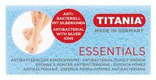Titania Bimsstein antibakteriell mit Silberionen in blau - Angebot!