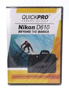 QuickPRO Nikon D610 Beyond The Basics DVD