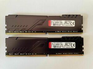 Kingston HyperX DIMM Fury Black, 32 GB, DDR4, Arbeitsspeicher, HX436C17FB3K4/64