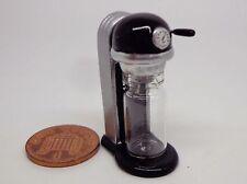 1:12 Scale Black Soda Makers ,Sparkling Drink Maker Doll House Miniatures Shop