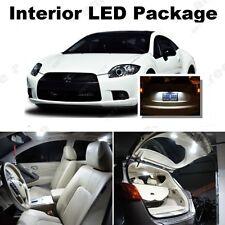 For Mitsubishi Eclipse 2006-2012 White LED Interior kit +White License Light LED