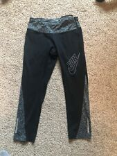 Nike Womens Dri Fit  Running Cropped Tights Capris XS athletic
