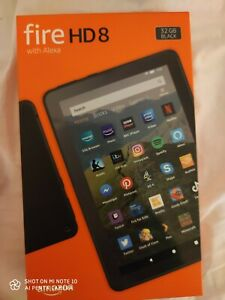Amazon Fire HD 8 Tablet  RED | 8th Generation - 32GB