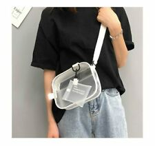 Women Clear Tote Bag PVC Handbag Shoulder Transparent Beach Clutch Purse Fashion