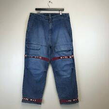 Girbaud Jeans - 90's Hip Hop Baggy Distressed - Tag Size: 38M (38x33.5) - #7308