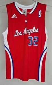 ADIDAS LOS ANGELES CLIPPERS NBA BASKETBALL JUNIOR JERSEY GRIFFIN #32 SIZE 9-10Y