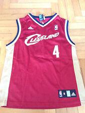 Canotta Jersey Nba Wallace Cleveland Cavs Adidas 10 12 Youth Jordan Basket VTG