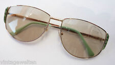 Eschenbach XL Sonnenbrille selbsttönendes Automatik Glas große 70s Damen size L