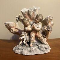 Volkstedt Couple in Love Porcelain Figurine Vase Triebner, Ens & Eckert c.1800s