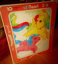 Amazing Rare Greek My Little Pony G1 10 Pieces Puzzle El Greco 1986 New G1