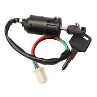 Universal Motorcycle Motorbike Ignition Switch Key With Wire For Honda/quad